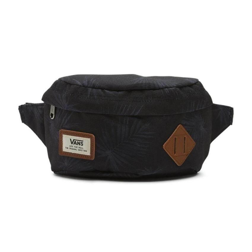 Vans กระเป๋าคาดเอว ALISO HIP PACK รุ่น VN000ZOVM5S สีดำ (Tonal Palm)