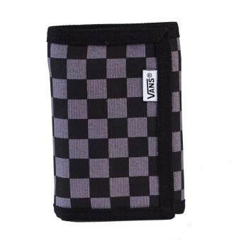 กระเป๋า แวน Wallet Slipped VN000EJAK0J BK/GRY (650)