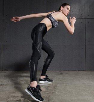 Vansydical กางเกงกระชับกล้ามเนื้อ รุ่น Power speed (ดำ-เทา)
