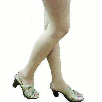 Venisof Beigeถุงน่องรักษาเส้นเลือดขอด สีเนื้อ แบบต้นขา ปลายเท้าเปิดopen แรงรัด 15-20 mmHg