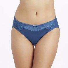 Wacoal Bikini panty (สีฟ้าออกเขียว/TURQUISE BLUE) - W67918