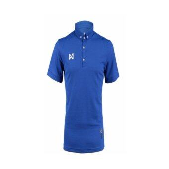 WARRIX SPORT เสื้อโปโลWA-3315-DD(สีน้ำเงิน)