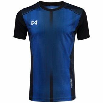 WARRIX เสื้อ WA-1546-BA (สีน้ำเงิน-ดำ)