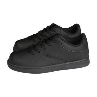 ประเทศไทย WARRIX รองเท้าฟุตซอลเด็ก WF-1412K-AA (สีดำ)