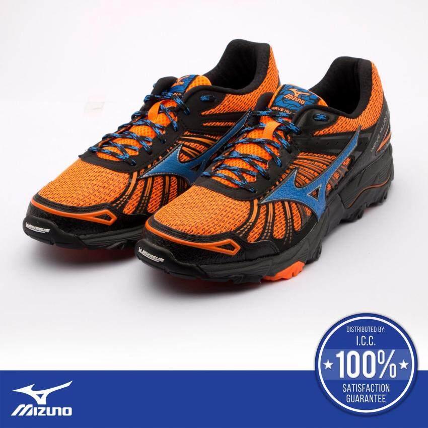 Wave Mujin 3 (รองเท้าวิ่งผู้ชาย เวฟ มูจิน 3) สีส้ม/ดำ