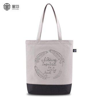ใหม่กระเป๋าสะพายถุงผ้าใบแพ็คเก็ต (WD1-04-02)