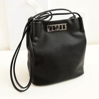 โปรโมชั่นพิเศษ กระเป๋าสะพายข้าง ผู้หญิง กระเป๋าแฟชั่น รุ่น LB-010 (สีดำ)