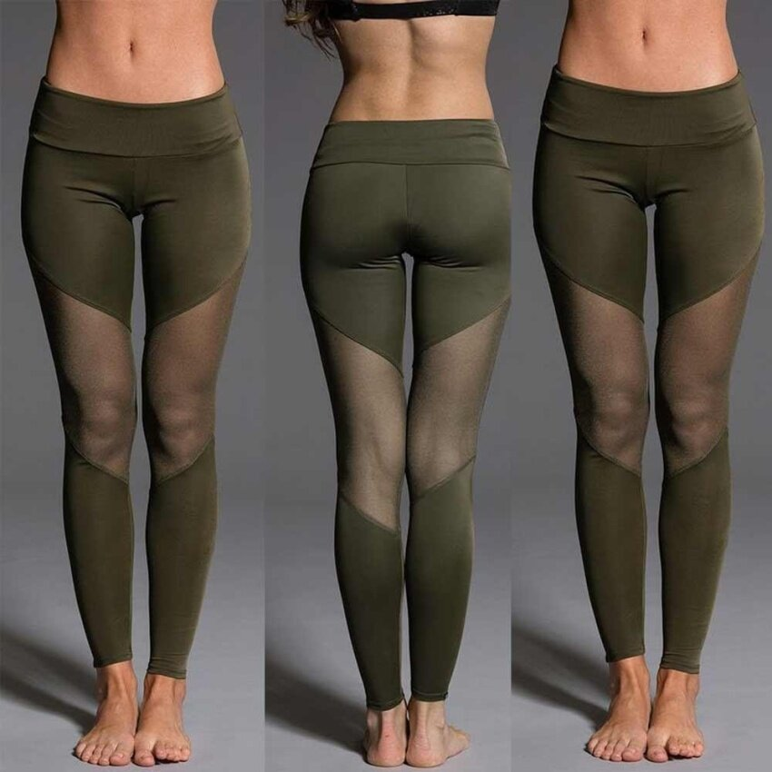 Women Leggings Sports Gym Yoga Workout Fitness Lounge Athletic Pants - intl