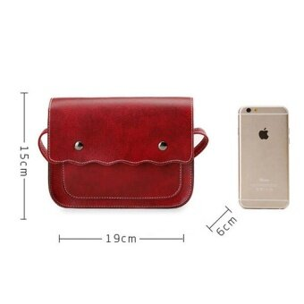 Wonderful Story กระเป๋าสะพายข้าง กระเป๋าเป้ผ้าไนลอน รุ่น T20-(Red) - 2