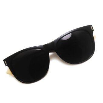 Wood Glasses แว่นขาไม้ รุ่น WF I Wood (Super Black) - 3
