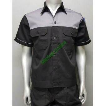 work shirt size m 42 1489413498 39530331 7e9b69f91a6aa9521d367d0127c6fb40 product ยอดขาย Work Shirt เสื้อเชิ้ตทำงาน เสื้อช่าง เสื้อช็อป Size M รอบอก 42 นิ้ว