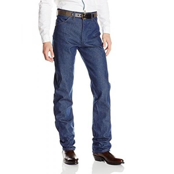 Wrangler Mens Cowboy Cut Original Fit Jean, Rigid Indigo, 36X32 - intl