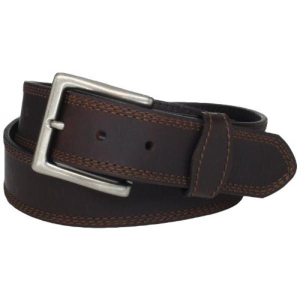 Wrangler Mens Rugged Wear Belt,Brown,38 - intl