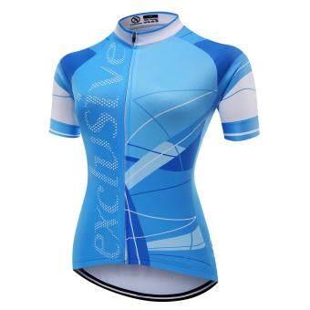 XCSBIKEเสื้อปั่นจักรยานผู้หญิงแขนสั้นปลายแขนเลเซอร์คัต Exclusive : EX172200