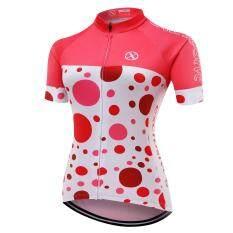 XCSBIKE  เสื้อปั่นจักรยานผู้หญิงแขนสั้นปลายแขนเลเซอร์คัต Exclusive : EX172260
