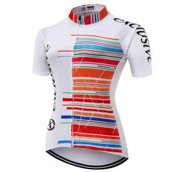 XCSBIKEเสื้อปั่นจักรยานผู้หญิงแขนสั้น Exclusive : EX172270