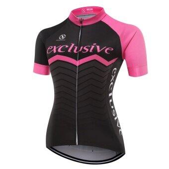 XCSBIKEเสื้อปั่นจักรยานผู้หญิงแขนสั้นปลายแขนเลเซอร์คัต Exclusive : EX172490