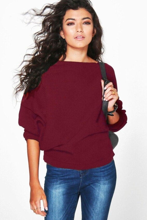 Yoins Women New High Fashion Clothing Casual Round Neck Short Sleeve Red Jumper Top - intl