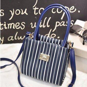 ต้องการขายด่วน กระเป๋าถือ กระเป๋าสะพาย สีน้ำเงิน รุ่น YYA0001