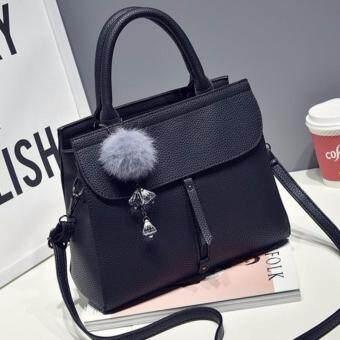 กระเป่าถือ กระเป๋าสะพาย สีดำ ผู้หญิง รุ่น YYH1007