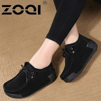 ZOQI Casual Shoe Women Light Breathable Fashion Shoes(Black) - intl