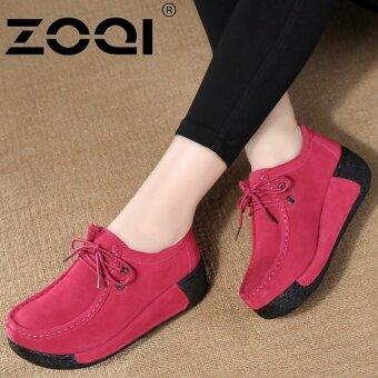 ZOQI รองเท้าลำลองรองเท้าผู้หญิง Light Breathable รองเท้าแฟชั่น (Rose)