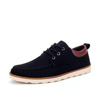 ZOQI Man's Formal Shoes Low Cut Shoes Casual Shoes (Black)