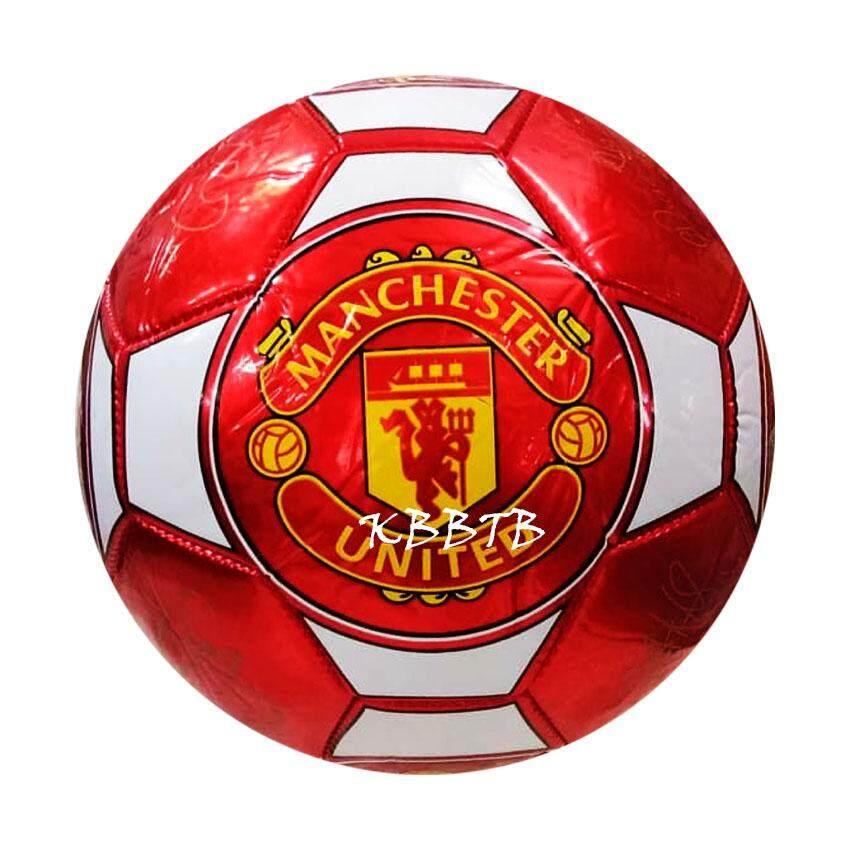 patipan toy บอลหนัง ฟุตบอลเบอร์ 5 ฟุตบอลหนังสำหรับเด็ก ลูกใหญ่ สีสดใส