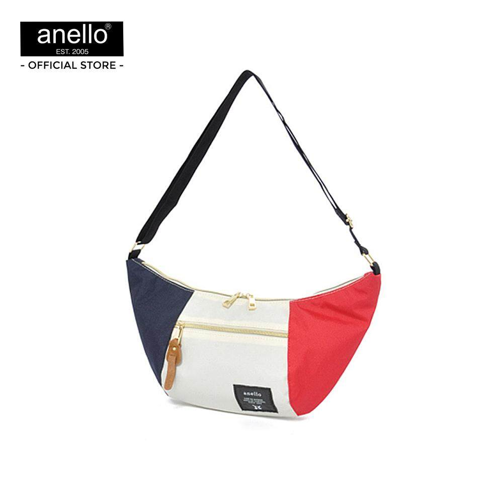ยี่ห้อนี้ดีไหม  นครศรีธรรมราช กระเป๋า anello Mini Banana-Shaped Shoulder Bag Mini Shoulder AT-B0192T-F