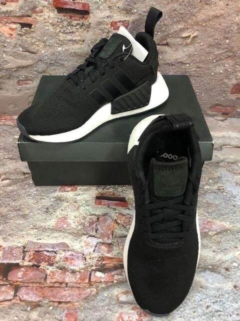 การใช้งาน  นครนายก พร้อมส่ง : รองเท้า Adidas NMD R2 สีดำปลั๊กดำ ของแท้