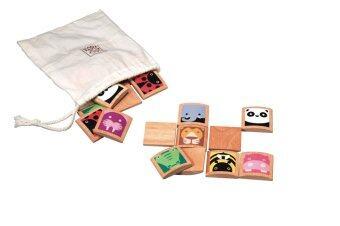 PlanToys Animal Memo เกมฝึกจำภาพสัตว์ และจับคู่ภาพเหมือน Wooden Toy แปลนทอยส์ ของเล่น เสริมสร้างทักษะทางด้านการสังเกต และฝึกการจำ