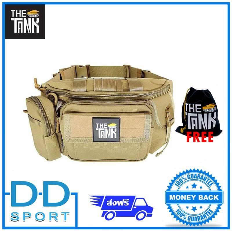 ลดสุดๆ สินค้าพร้อมส่ง จัดส่งฟรีKerry กระเป๋าคาดเอว พกพาสำหรับเดินป่า ปีนเขา กระเป๋าคาดขามอเตอร์ไซค์ แบรนด์ The Tank รุ่น GU27 ซื้อ 1 ได้ 2 ถอดใบเล็กออกเป็นร้อยเข็มขัดได้ จุเยอะ ล็อคแน่น เท่ห์ ทน ครบจบ
