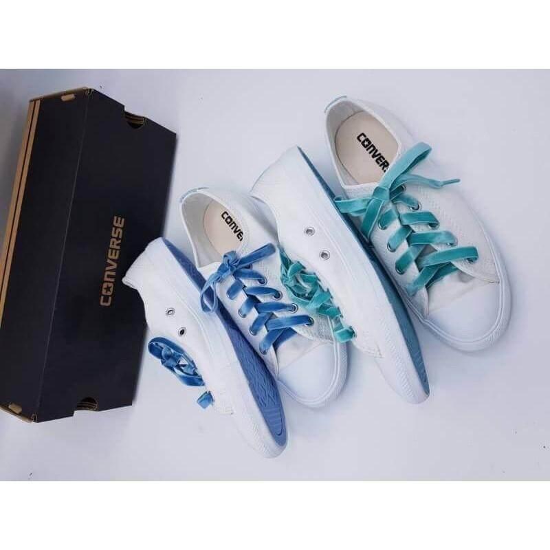 สอนใช้งาน  แพร่ รองเท้าผ้าใบ converse   ของแท้?? all star dt june Ox