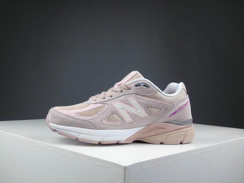 สอนใช้งาน  นครศรีธรรมราช New Balance_2019 รองเท้าวิ่งผู้หญิง / Women s Fashion Sports Running Shoes Sneakers NB-990V4-5