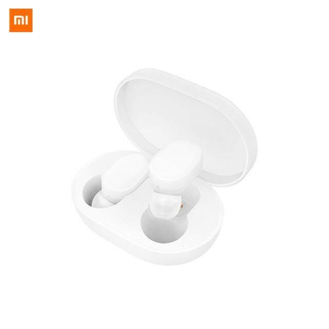 ยี่ห้อนี้ดีไหม  กระบี่ หูฟังบลูทูธแฮนด์ฟรี Xiaomi Mi Airdots หูฟังอัจฉริยะควบคุมด้วย AI Mijia Bluetooth Earphones Wireless TWSEJ02LM