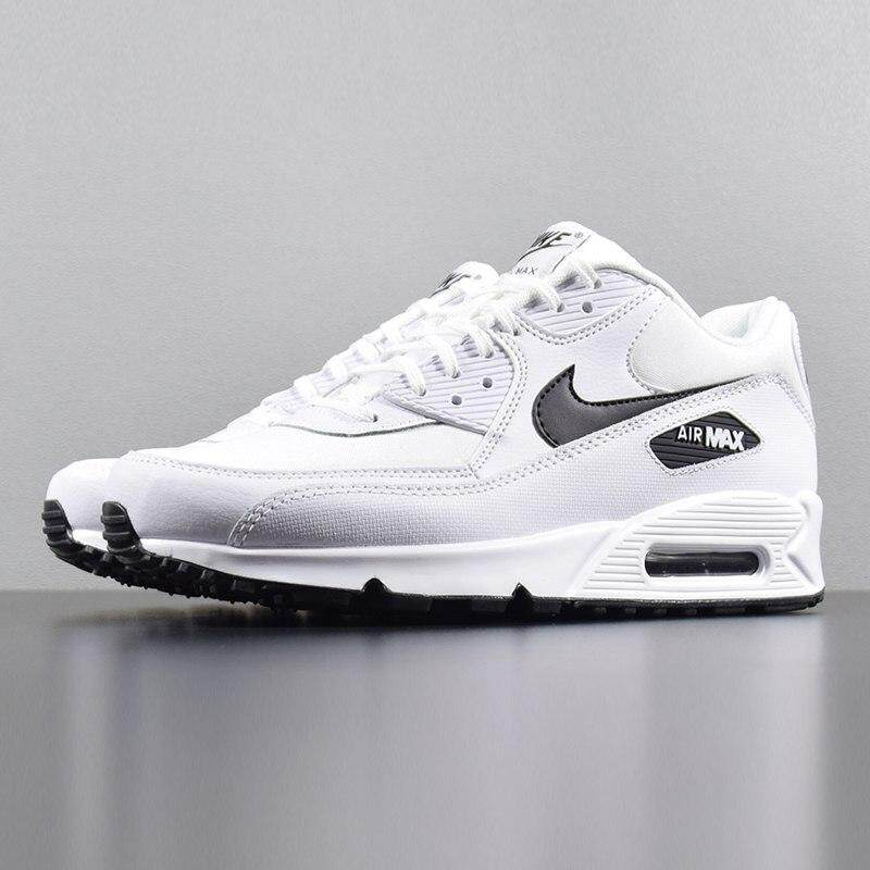 nike AIR MAX 90 ESSENTIAL Men Running Shoes Sneakers, White, Lightweight