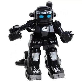 777 Robot battel หุ่นยนต์นักมวยบังคับวิทยุ 2.4 Ghz (black)