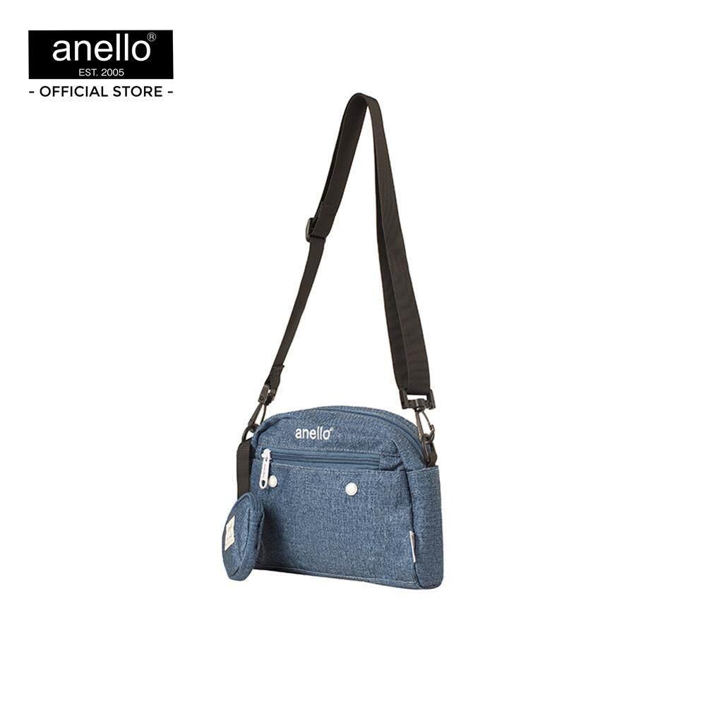 สกลนคร กระเป๋าสะพาย Anello CS 10 Pockets Shoulder Bag S PL AT-S0119