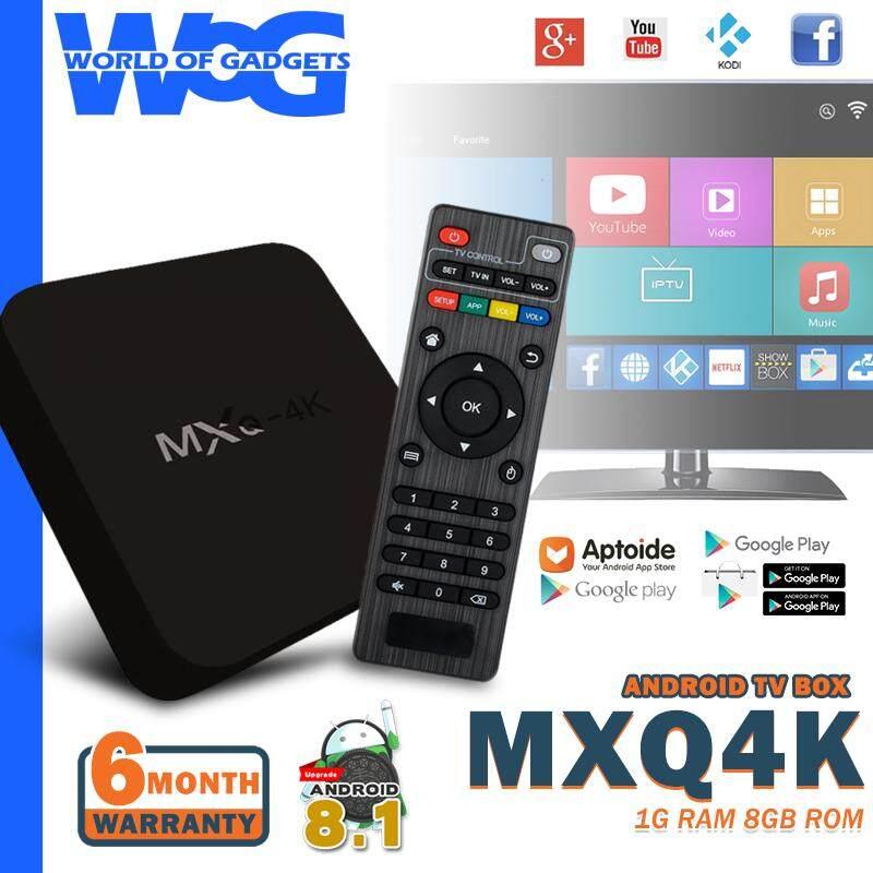 หนองคาย MXQ4K กล่องแอนดรอยด์  แอนดรอยด์ 8.1 เล่นเน็ต เข้าเว็บ เล่นเฟส ยูทูป ดูหนัง ฟังเพลง เล่นเกม ดูฟรีทีวีออนไลน์ ลงแอพได้  เชื่อมต่อไวไฟ และ สาย Lan  รองรับ USB เชื่อมต่อคีย์บอร์ด เม้าส์ RockChip RK3229 Quad Core แรม 1G รอม 8GB  ฟรี รีโมท HDMI และอะแดปเตอร์