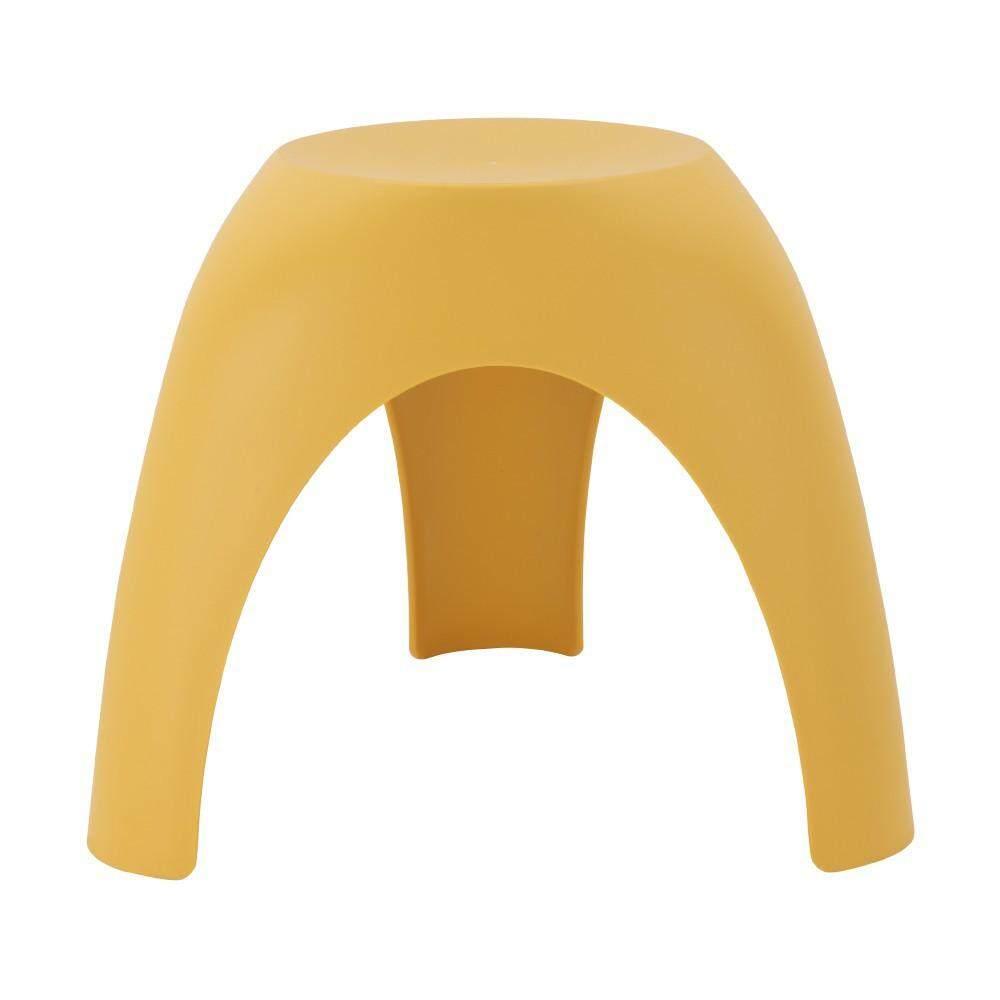 เช่าเก้าอี้ โคราช เก้าอี้พลาสติก รุ่น ว้าว - สีเหลือง