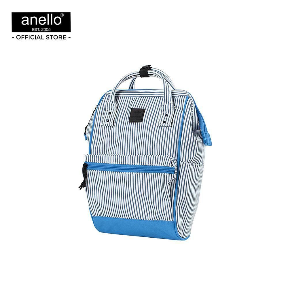 ยี่ห้อนี้ดีไหม  ชุมพร anello กระเป๋า กระเป๋าเป้ SMALL  Multi color Classic Backpack OS-N046