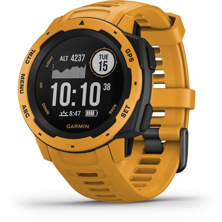 สอนใช้งาน  แพร่ Garmin Instinct Outdoor GPS Watch - [Sunburst]
