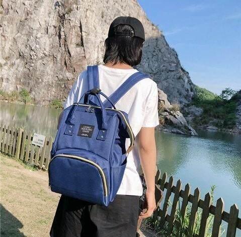 มุกดาหาร NONGLING SHOP กระเป๋าเป้สะพายหลังสุดความคลาสสิก สีสันสดใส NLF05