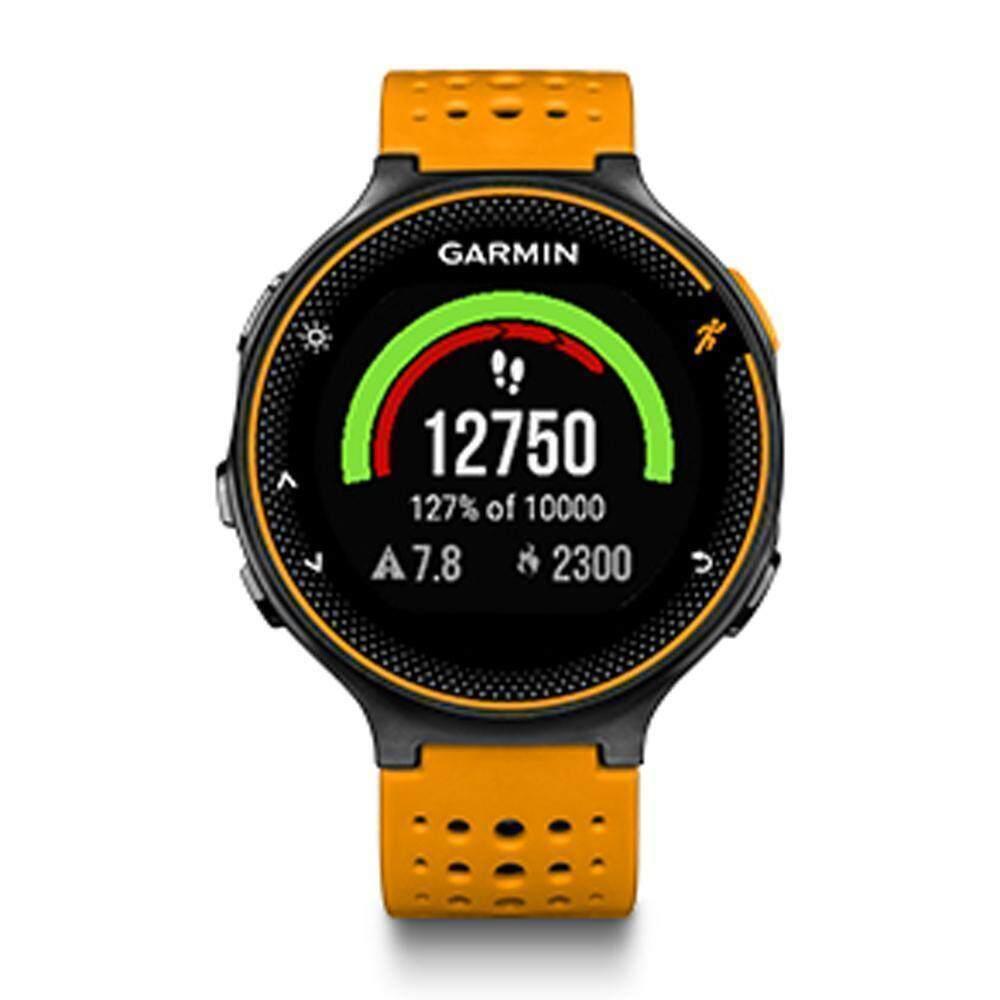 ยี่ห้อไหนดี  นครศรีธรรมราช Garmin Forerunner 235 GM-010-03717-6F Smart Digital Orange Silicone Unisex Smartwatch