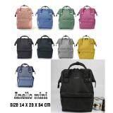 สอนใช้งาน  เชียงราย Anello Mini Backpack-Heat Tone Waterproof (BK)
