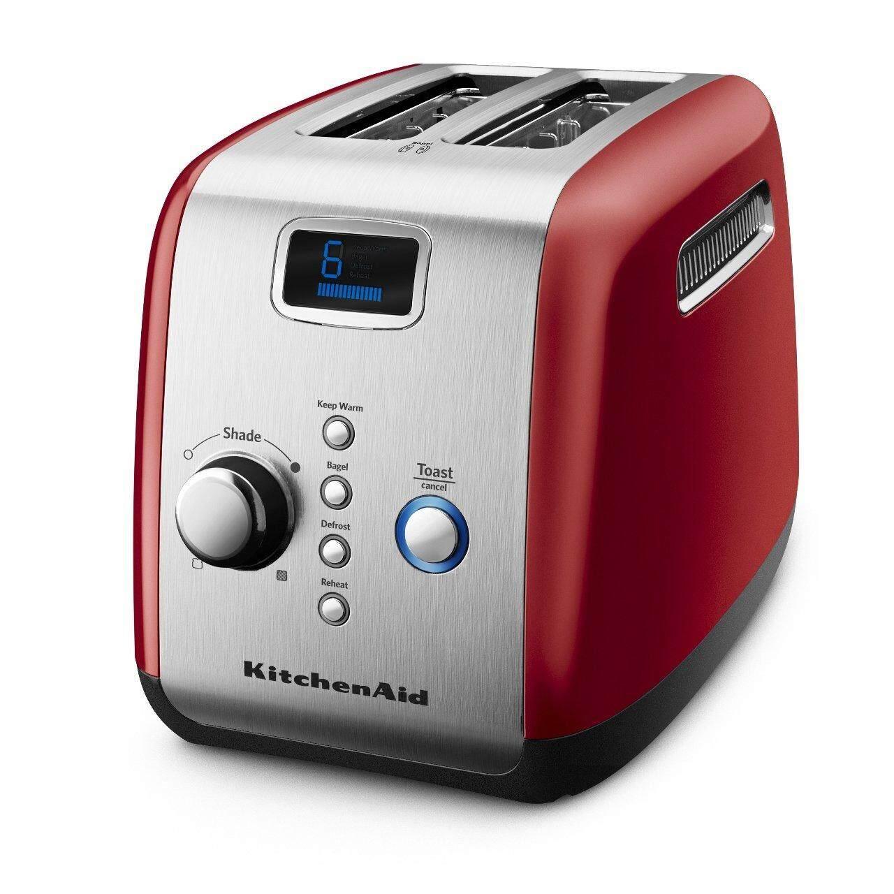 สอนใช้งาน  นครสวรรค์ KitchenAid  Automatic/Pop Up Toaster Empire Red