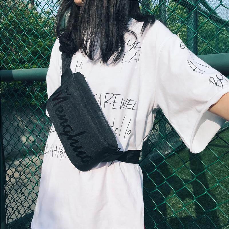 กระเป๋าเป้สะพายหลัง นักเรียน ผู้หญิง วัยรุ่น ชุมพร กระเป๋าคาดอกและเอวMENGHUOมาแรงฮิตที่สุด B484