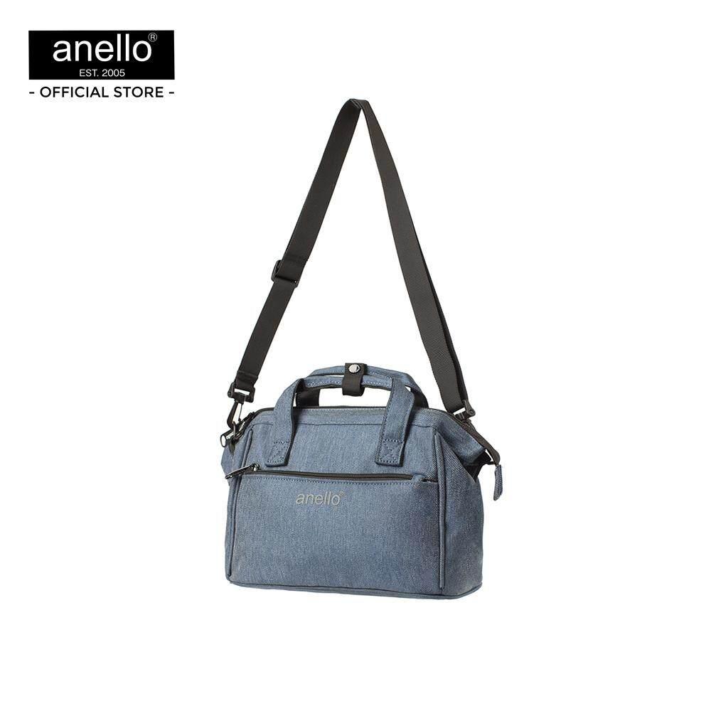 ศรีสะเกษ กระเป๋าสะพาย Anello Koten Denim 2Way Mini Boston Bag PL OS-N033