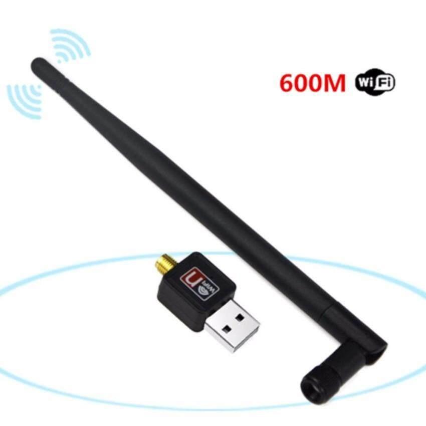 **ส่งฟรี** เสาอากาศ Wifi USB 2.0 Wireless 802.11N 600Mbps (2 ชิ้นส่งฟรี kerry) รุ่นใหม่ 2019 usb ติดตั้งง่าย ดูดไวไฟ รับไวไฟ เสาอากาศ wireless adapter ไวไฟไม่แรง สำหรับคอมพิวเตอร์ โน้ตบุ๊ค แล็ปท็อป เ