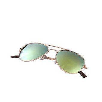 1 Pair of Unisex Kid Child Metal Frame Sunglasses Shades Sun\nGlasses Color 2